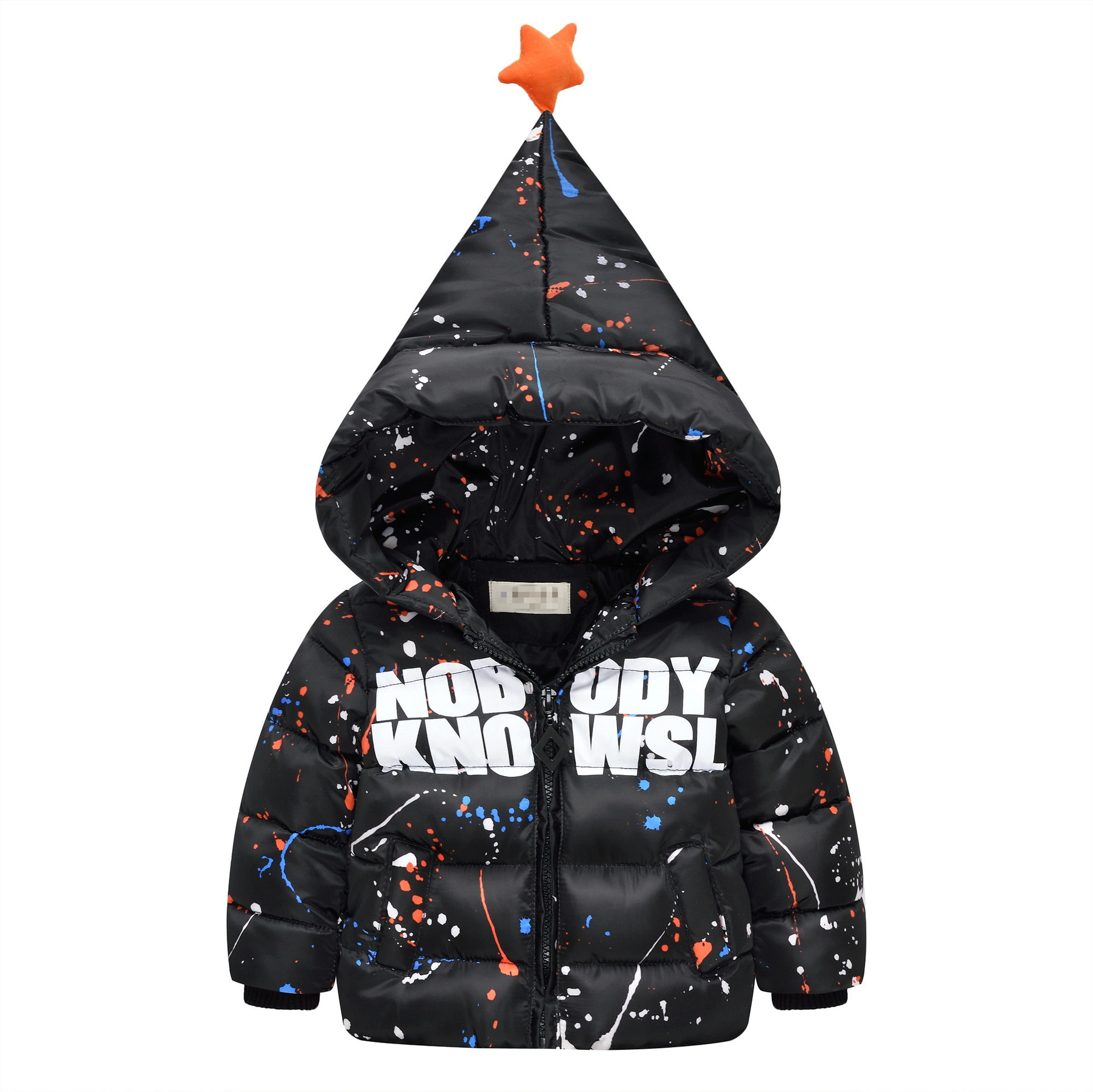kids Jacket winter coat Children's cute outerwear winter style baby Goys and Girls Warm parka Coat Clothes for 9M-4T