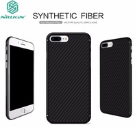 For Apple IPhone 7 Plus Cover Original Nillkin High Quality PC Carbon Fiber Woven Pattern Build