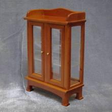 Escala 1:12 Dollhouse Miniatura muebles Buffet escaparate vitrina de Madera para niños Juguetes y Pasatiempos