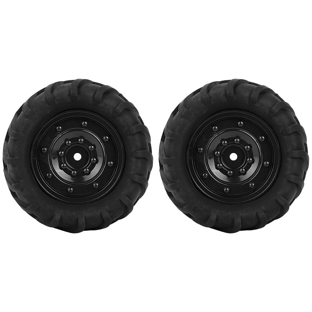 1:16 RC Rally Car Tires Rubber & Wheel Rims for HSP HPI Kyosho 4WD Racing Off-Road Refit Accessories Closed Hole