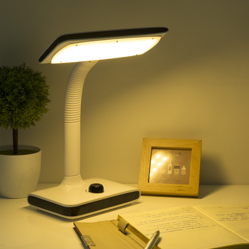 Rechargeable Table Lamp Eye Protection Learning Plug Study Students Children Writing Reading Anti-myopia Super Bright