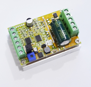 Image 2 - 380w 3 Phases Brushless Motor Controller board(No/without Hall sensor) BLDC PWM PLC Driver Board DC 6 50V