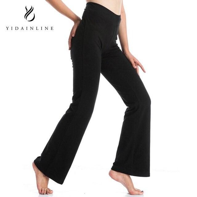 4685d4d1b1253 Women's Yoga Pants High Waist Inner Pocket Bootcut Leggings Workout Running  Pants