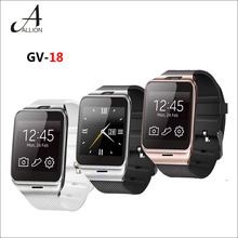 New 2016 Bluetooth Aplus GV18 Smart Watch Phone 1.55″ GSM NFC Camera WristWatch SIM Card Smartwatch for iPhone6 Samsung Android