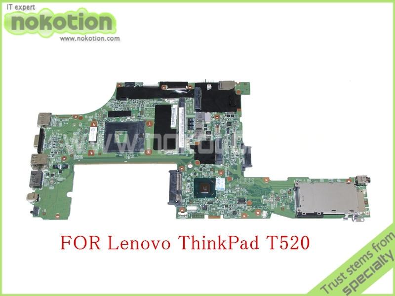 FRU 04W2020 For lenovo thinkpad T520 laptop motherboard QM67 Intel HD graphics DDR3