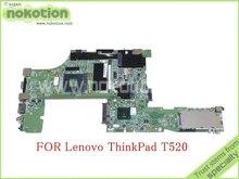 Fru 04W2020 для lenovo thinkpad T520 материнская плата QM67 Intel HD графика DDR3