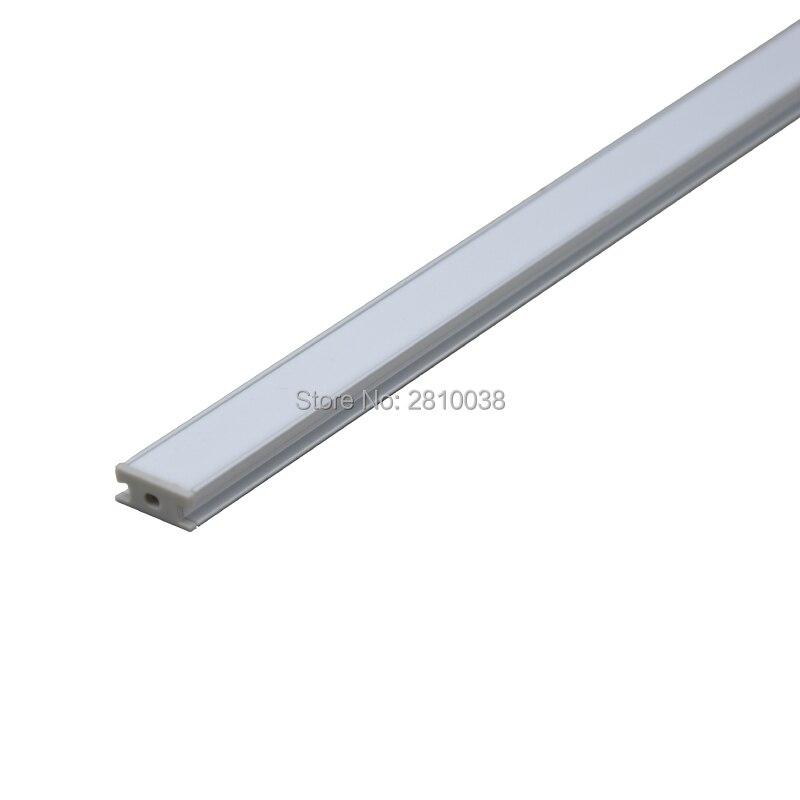 10 կոմպլեկտ / Lot H Shape Anodized Silver Silver- ի LED - LED լուսավորություն - Լուսանկար 4
