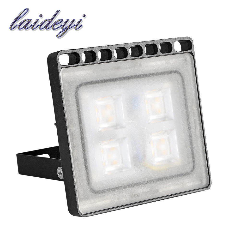 LAIDEYI 20w Led Floodlights Led Searchlight Ourdoor Spot Lamp AC220V 1600lm SMD LED Flood <font><b>Light</b></font> for Garden Landscape Yard Fence