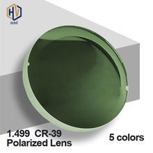 купить 1.499 CR-39 Polarized Sunglasses Prescription Optical Lenses For Driving Fishing UV400 Anti-Glare Polarized Lenses дешево