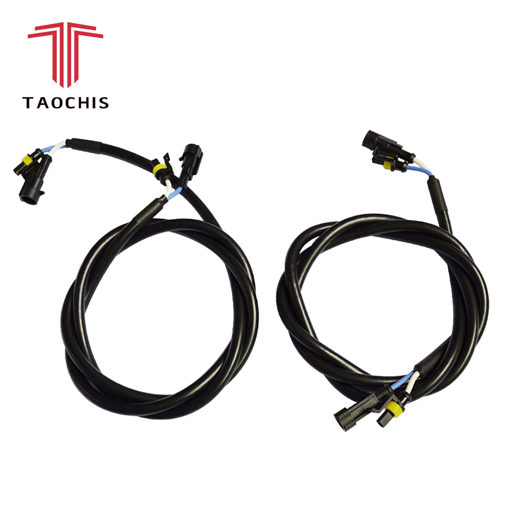 hight resolution of 2pcs taochis amp extension cord high voltage extend wire cable for hid xenon ballast wiring harness h1 h3 h4 h7 h8 h11 9005 9006