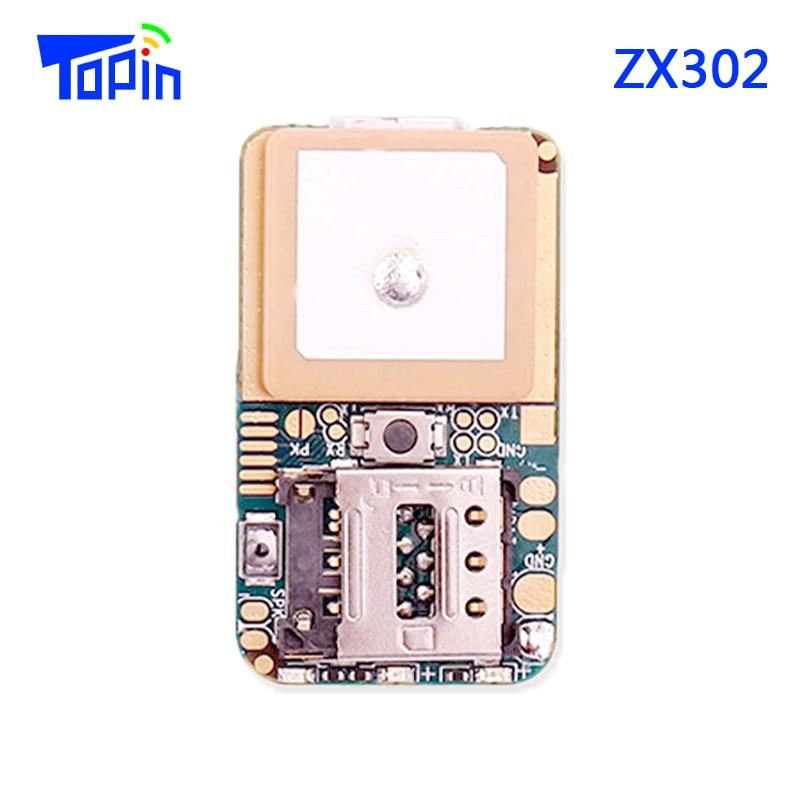10 pçs/lote ZX302 PCBA Mini Posição GSM Localizador GPS Tracker Real-tempo de Rastreamento De Chamadas de Voz de Monitoramento para Crianças Animais de Estimação veículo