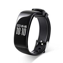 X16ค่าใช้จ่ายสร้อยข้อมือสมาร์ทIP67กันน้ำกีฬาPedometerสายรัดข้อมือหัวใจRate MonitorออกกำลังกายนาฬิกาสำหรับAndroid iOS PK F Itbit