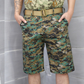 DOD SHOURTS Tactical  Camouflage Capri Pants Men Cotton Polyester Cropped Quick Dry Trousers Fashion Casual Camp Tour
