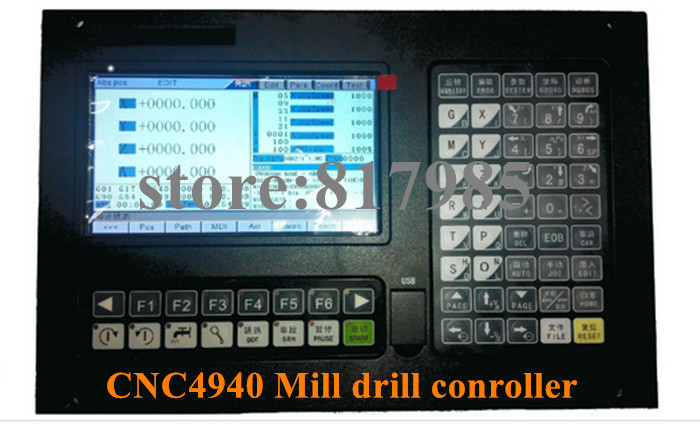 Best price Milling CNC4640 mill machine 4 axis CNC controller system rodeo 5 axis cnc machine price 1212