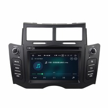 KLYDE 2 Din 6.2 8 Core Android 8.0 Car Multimedia Player For Toyota YARIS 2005-2011 DVD Stereo Audio