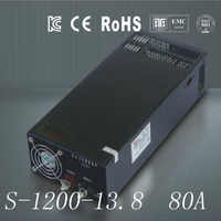 DC13.8V 80A 1200W Switching Switch Power Supply  unit Transformer 240v 110v AC-DC Universal block power for LED Strip 3D Print
