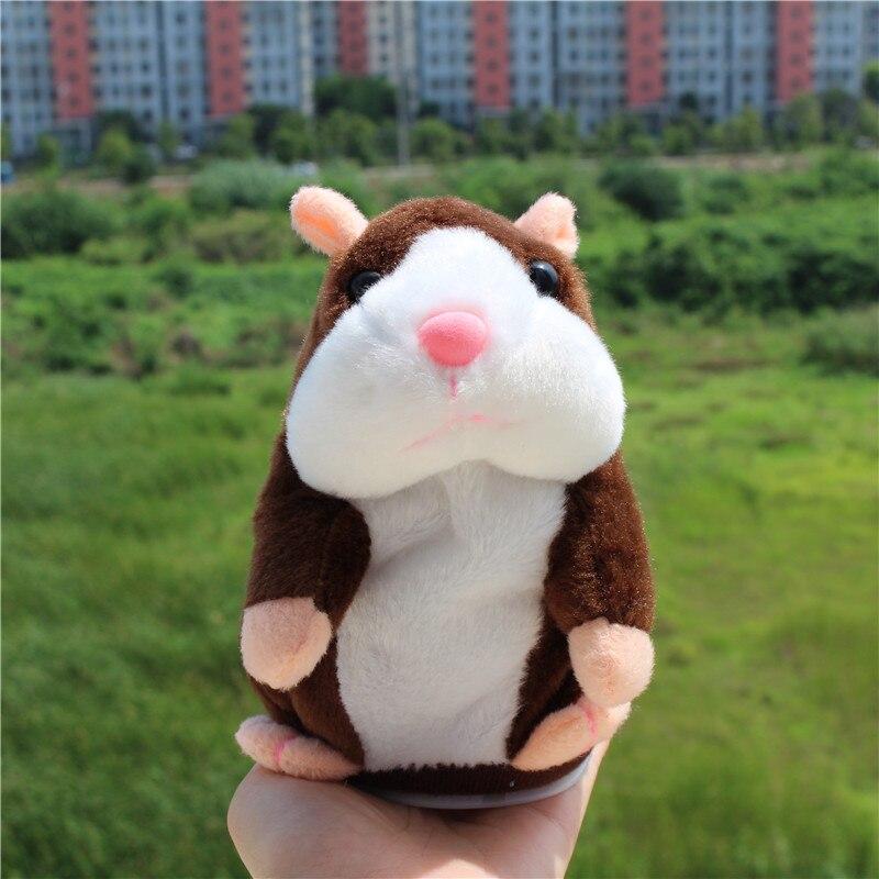 Little Talking Hamster Brown
