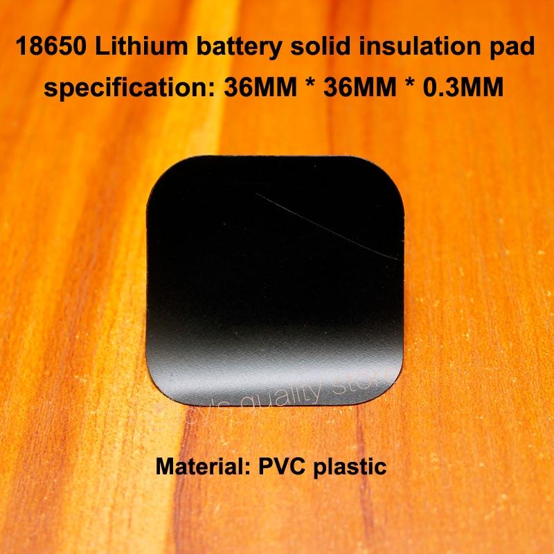 Купить с кэшбэком 100pcs/lot 18650 Universal Lithium Battery High Temperature Insulation Gasket 18650 Battery Pack Insulation 4S Surface Mat