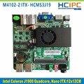HCIPC ITX-HCMS3J19, Celeron J1900 Quad core Nano ITX материнская плата, Embedded Материнская Плата