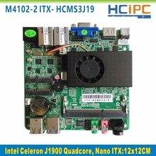 HCIPC ITX-HCMS3J19,Celeron J1900 Quad core Nano ITX motherboard,Embedded Mainboard