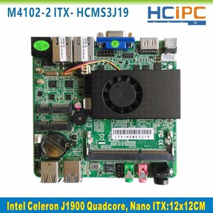 HCIPC ITX-HCMS3J19,Celeron J1900 Quad core Nano ITX motherboard,Embedded Mainboard(China)