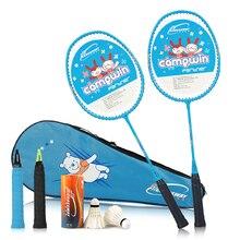 COROSSWAY raquette légère Raquette Badminton avec sac de badminton 2 Pcs En Alliage D'aluminium Formation Raquette de Badminton Sport Equipmenl