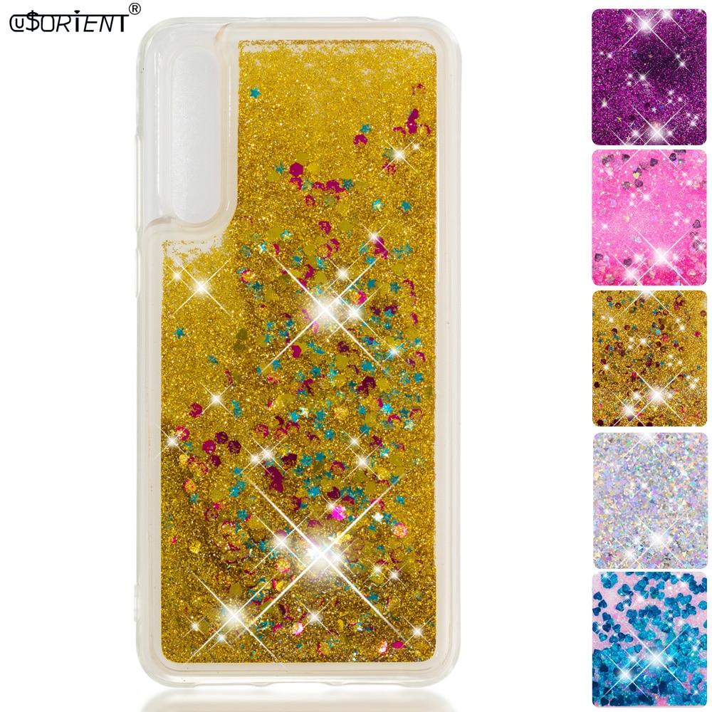Phone Bags & Cases Half-wrapped Case Rapture Soft Case For Huawei P20 Pro P20 Plus Glitter Stars Dynamic Liquid Quicksand Phone Cover Clt-l29 Clt-l09 Clt-l09c Clt-l29c Funda Sales Of Quality Assurance