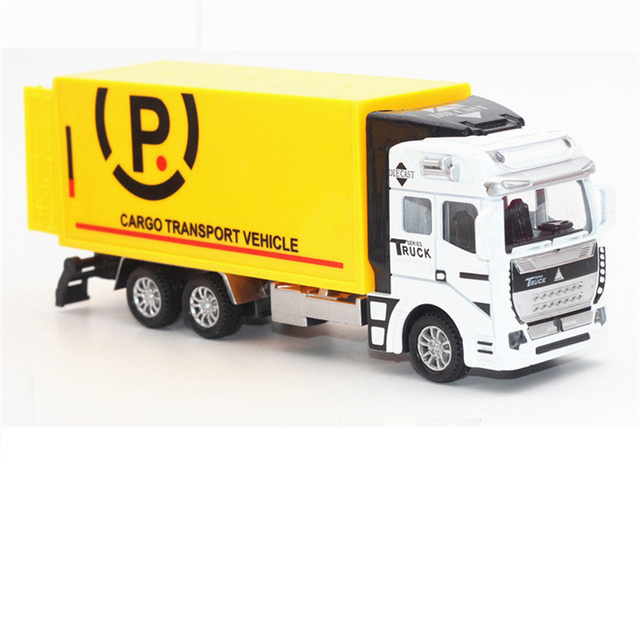 1:32 Alloy Metal Truck Diecast Toy Pull Back Car Truck Models Kids Cheap Dinky Toys Christmas Gifts Brinquedos Voiture Enfant
