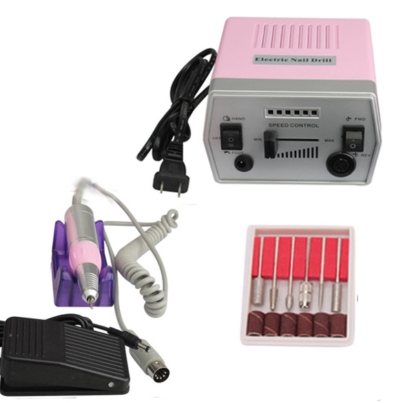 Professional Nail Art Tool Pro 220V Electric Manicure Machine Set Drill File Kit Pedicure Polish Shape Tool -27