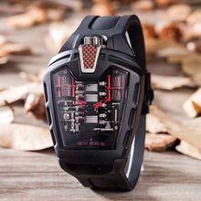 Для Мужчин's Элитный бренд Новый кварцевые нержавеющая сталь стекло сзади резиновая серебро розовое золото спортивные часы мужские п