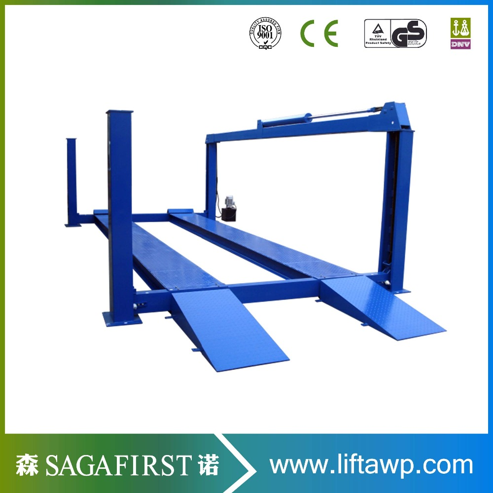 Garage Equipment 4 Post Car Lift  For Sale