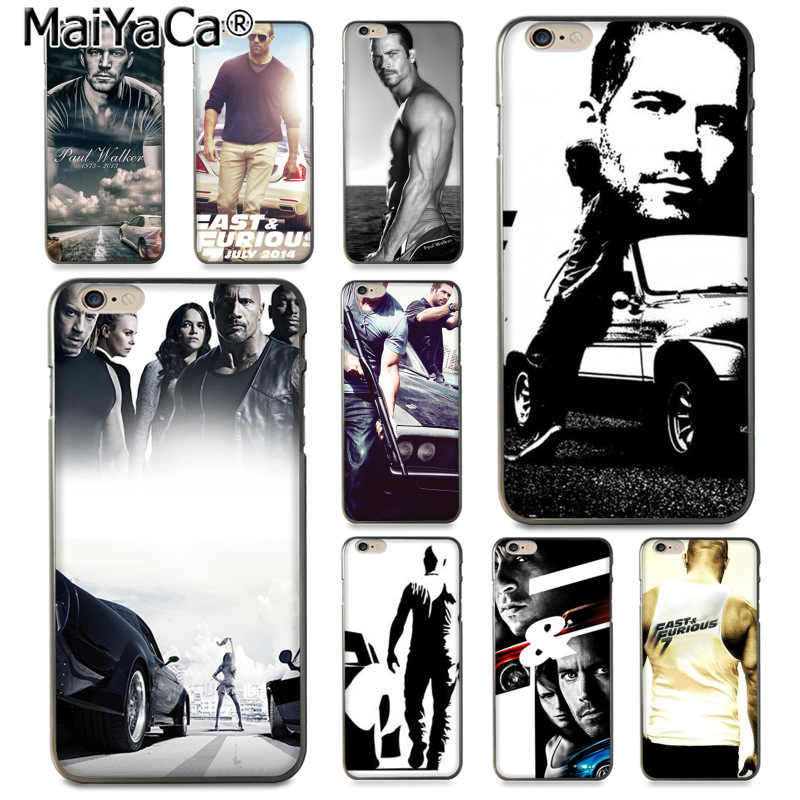 MaiYaCa Snelle en Furious Paul Walker Nieuwe Collectie Mode telefoon case cover voor iphone 11 pro 8 7 66S Plus X 5S SE XS XR XS MAX