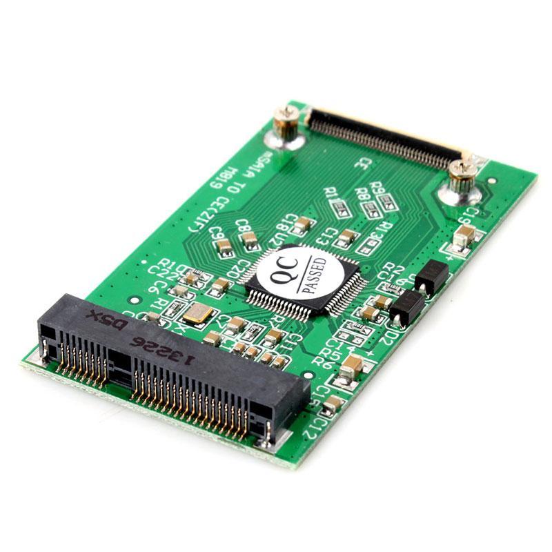 New Mini PCI-E MSATA SSD To 40pin ZIF CE Cable Adapter Card #55353
