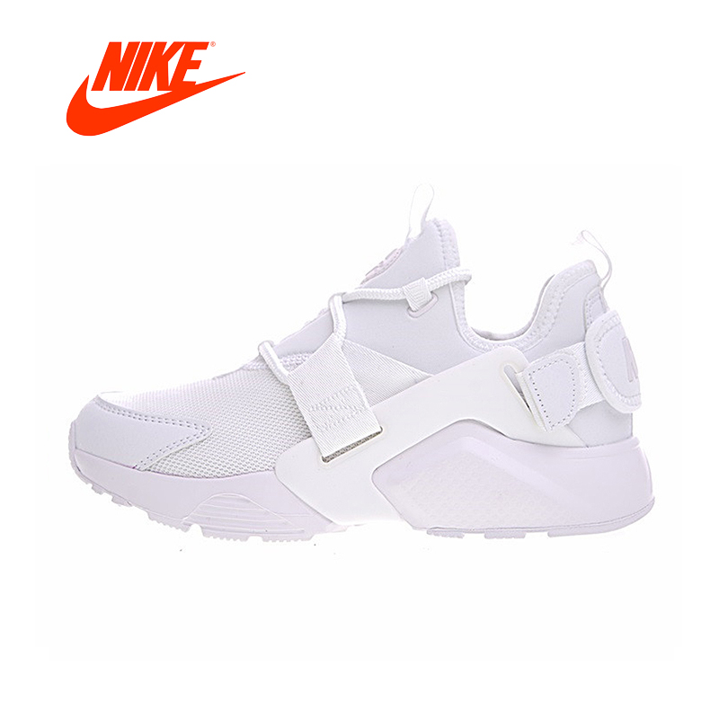 Original New Arrival Official NIKE Best Sellers AIR HUARACHE CITY LOW Lovely Women Running Shoes Outdoor Sports female shoes original new arrival official nike air huarache city low women running shoes outdoor sports shoes ah6804