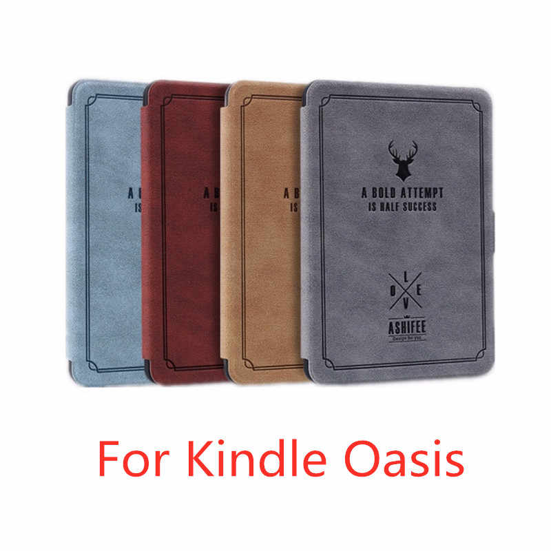 Cover case for Amazon kindle oasis 2017 smart slim case for Kindle oasis 2  (2017 new release)Deer diagram 2019 kindle oasis 3