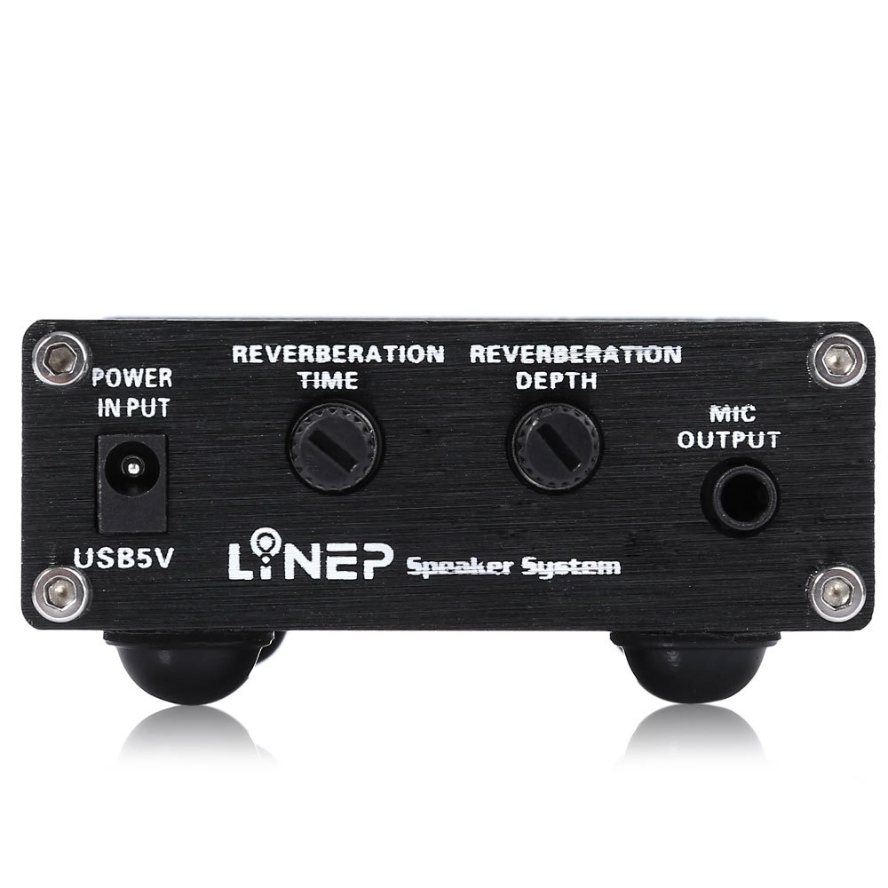 Mesuvida A907 Mikrofon Sound Verstärker Ultrakompakte 2 Kanal ...