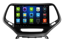 Free Shipping Android 6.0 10.1 inch Car Dvd Gps forJeep CHEROKEE 4-Core Steering wheel control wifi DVR support