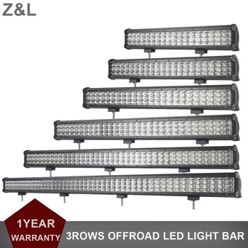 OFFROAD CAR SUV LED LIGHT BAR INDICATOR LAMP 9-30V 4WD AWD TRACTOR TRUCK PICKUP 4X4 COMBO BEAM AUXILIARY DRIVING LIGHT W/ WIRING