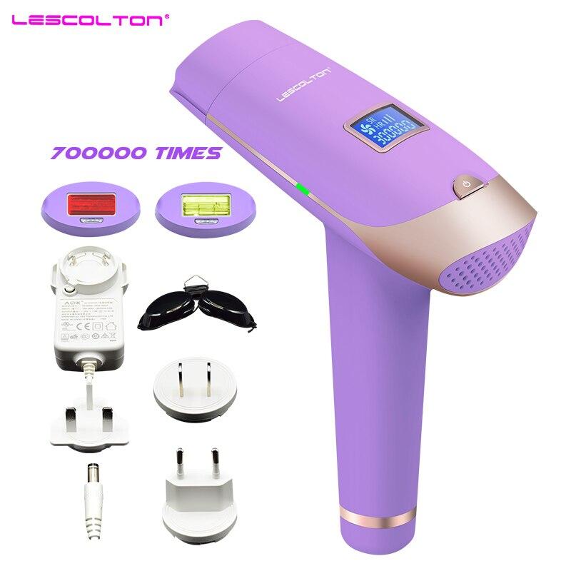 Lescolton T009X 3in1 IPL Depilazione Laser Lazer Macchina epilasyon con Display LCD rimozione Dei Capelli Per Boay Bikini Viso Ascellare