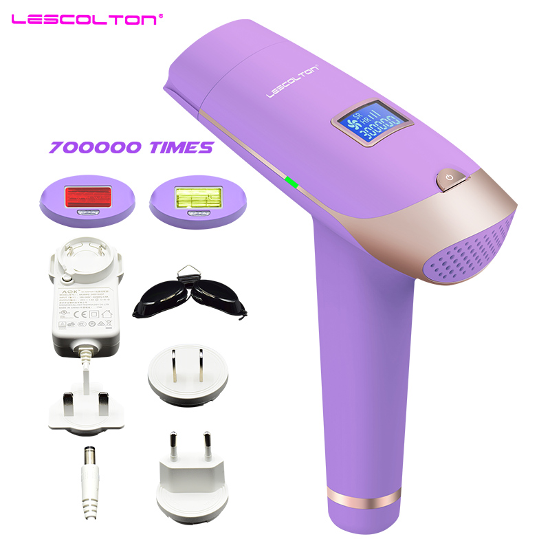 цена на lescolton T009X 3in1 IPL Laser Hair Removal Machine Lazer epilasyon with LCD Display Hair removal For Boay Bikini Face Underarm