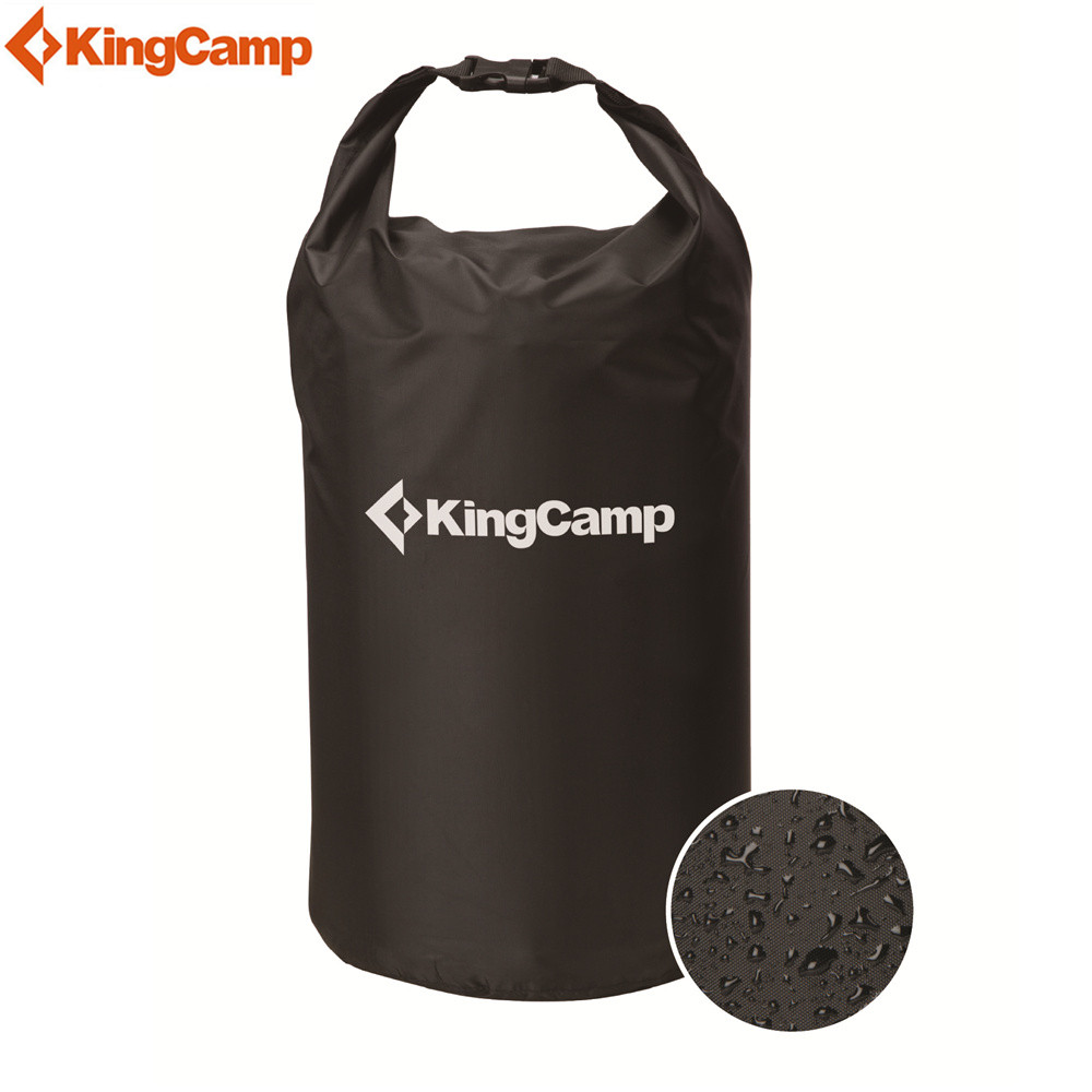 KingCamp 15L 25L 30L Outdoor Swimming Waterproof Bag Camping Snorkeling Rafting Storage Dry Bag with Adjustable Strap Hook