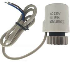 230 В нормально открытый Электрический термопривод для коллектора underfloor отопительный клапан calefaccion suelo radiante actuador