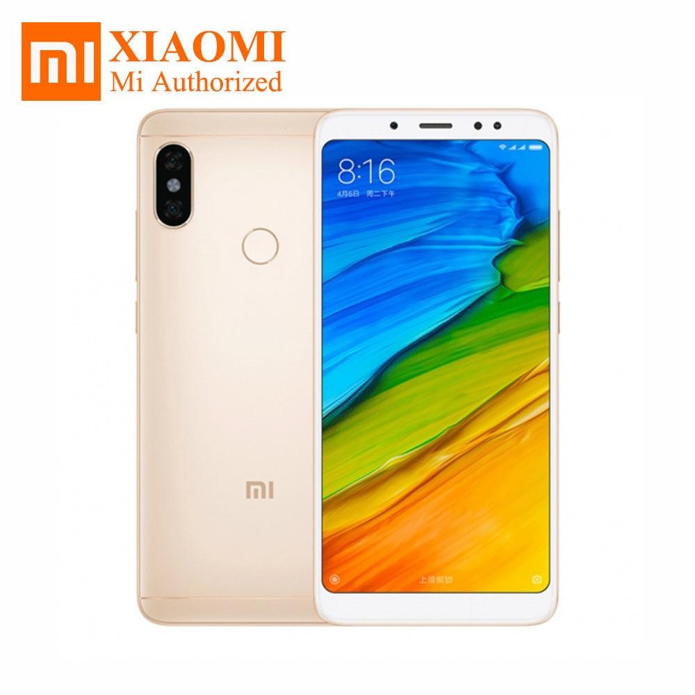 """Глобальный Встроенная память оригинальный Xiaomi Redmi Note 5 5,99 """"FHD Snapdragon 636 Octa Core 3 ГБ Оперативная память 32 ГБ Встроенная память 4 г LTE мобильный телефон 13MP 4000 мАч"""