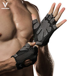 Veidoorn رياضة قفازات اللياقة البدنية قفازات لرفع الأثقال الرجال النساء عدم الانزلاق حماية اليد تنفس ممارسة الرياضة التدريب قفازات