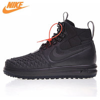 Nike Lunar Force 1 duckboot '17 мужские удобные Скейтбординг обувь, оригинальный открытый кроссовки 916682