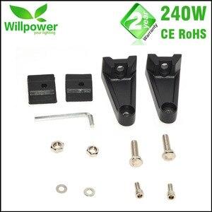 Image 5 - Kit de condução 4x4 combo com frete grátis, kit com 24000lms 42 polegadas, 240w, 4x4, luzes para carro luz de led da barra da luz 12v offroad