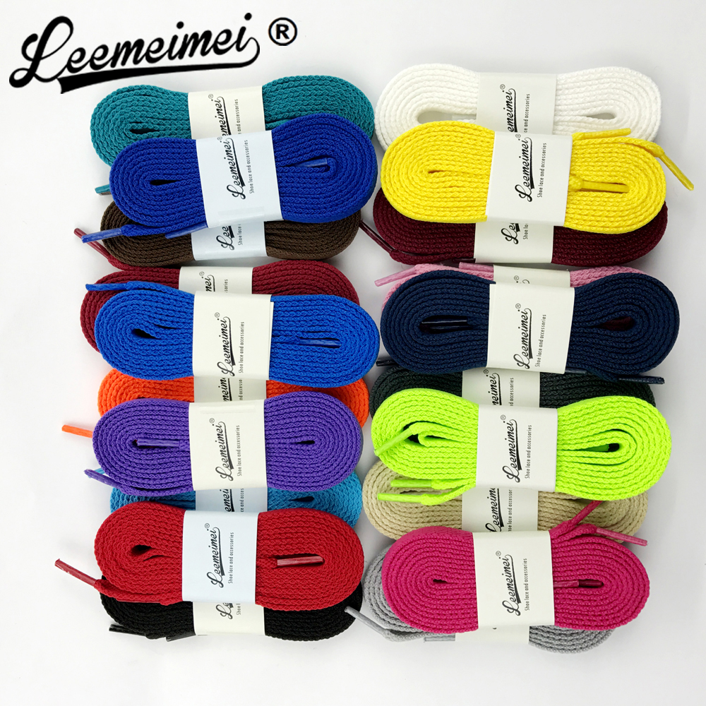 10pairs Round Shoelace Athletic Sport Sneakers Flat Shoelaces Bootlaces Shoe laces Strings Multi Color 100cm