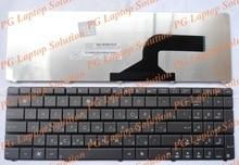 Clavier russe pour Asus A52 A52D A52DE A52F A52J A52JC A52JB A52JB A52JE A52N RU clavier Noir