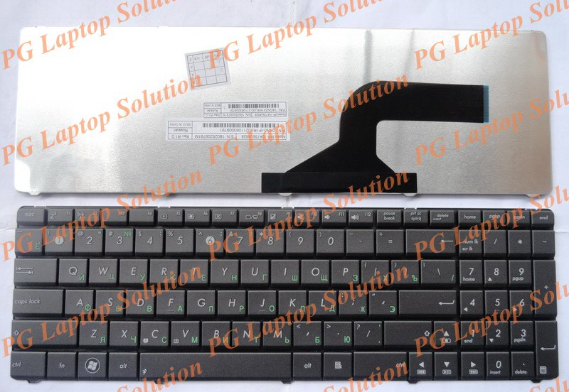 Russian Keyboard for Asus A52 A52D A52DE A52F A52J A52JC A52JB A52JB A52JE A52N RU Black keyboard-in Replacement Keyboards from Computer & Office on