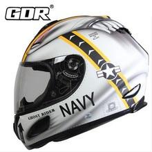 (1 unid y 5 colores) material abs de alta calidad rda marca motocicleta de la cara llena cascos de moto casco cruz casco capacete